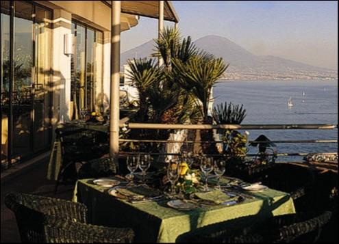 Ristorante Caruso Roof Garden Del Vesuvio Di Napoli Recensioni